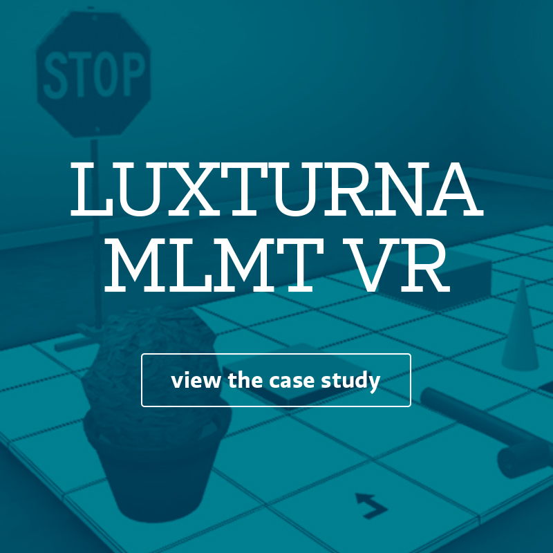 LUXTURNA MLMT VR experience