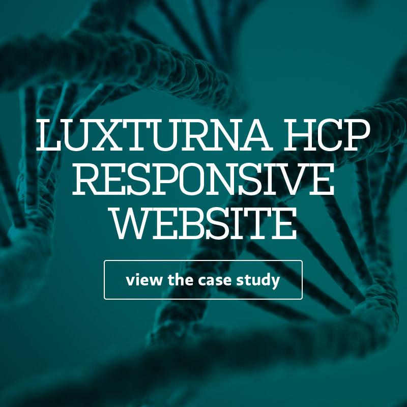 LUXTURNA HCP RESPONSIVE WEBSITE